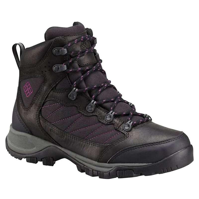 コロンビア レディース ブーツ・レインブーツ シューズ Columbia Women's Cascade Pass WP Boot Black / Intense Violet