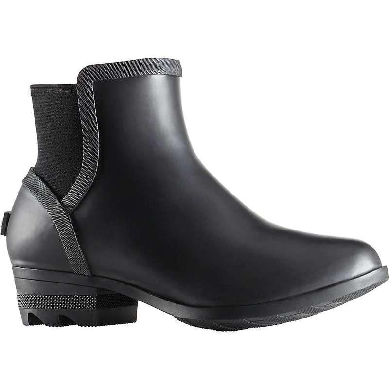ソレル レディース ブーツ・レインブーツ シューズ Sorel Women's Janey Chelsea Boot Black / Sea Salt