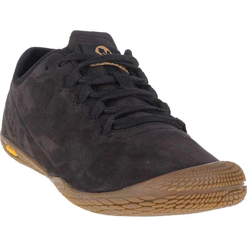 メレル レディース ブーツ・レインブーツ シューズ Merrell Women's Vapor Glove 3 Luna Leather Shoe Black