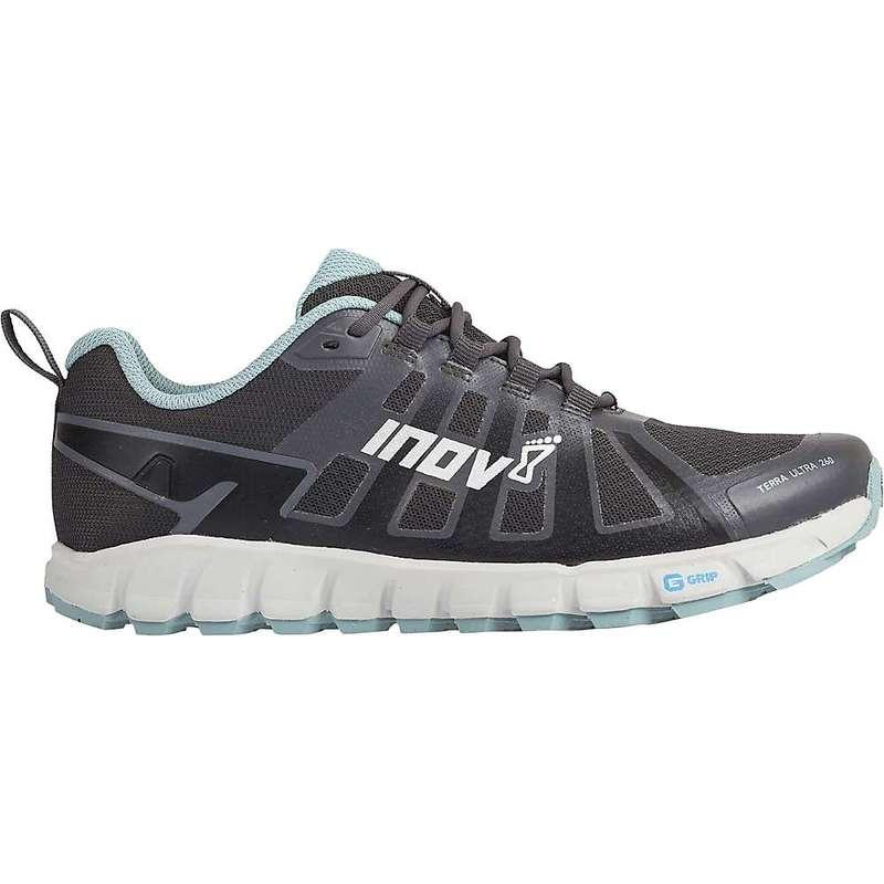 イノヴェイト レディース スニーカー シューズ Inov8 Women's Terraultra 260 Shoe Grey / Blue Grey