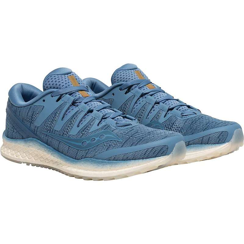 サッカニー レディース スニーカー シューズ Saucony Women's Freedom ISO2 Shoe Blue Sha