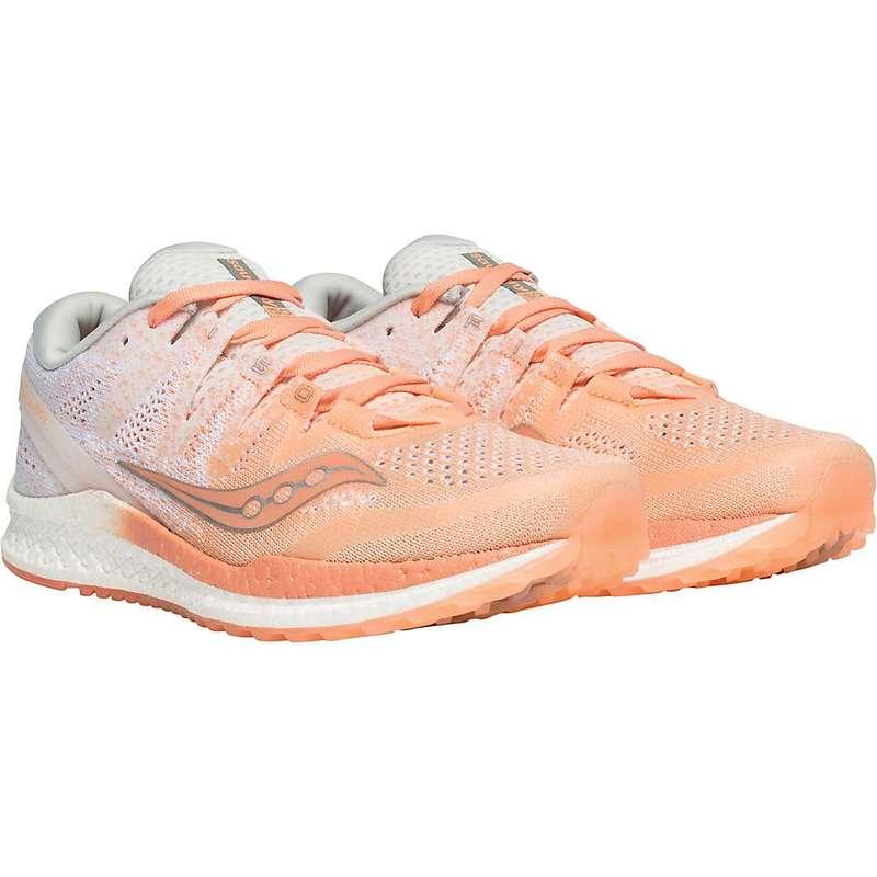 サッカニー レディース スニーカー シューズ Saucony Women's Freedom ISO2 Shoe Peach