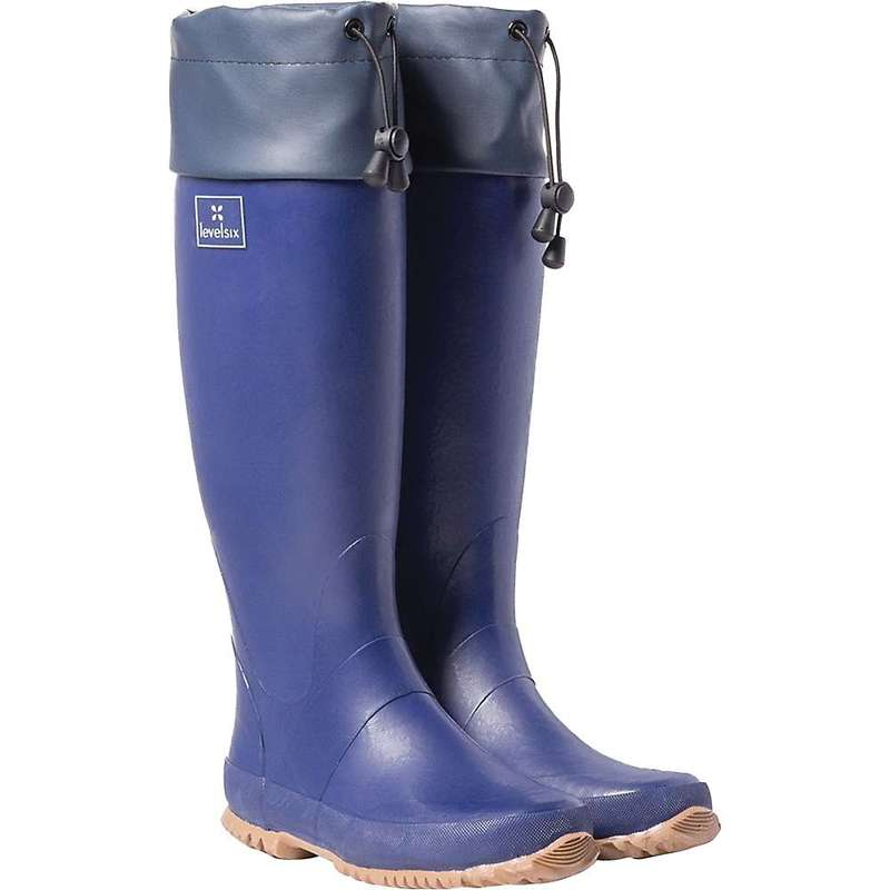 レベルシックス レディース ブーツ・レインブーツ シューズ Level Six Women's Shoreline Boot Twilight Blue
