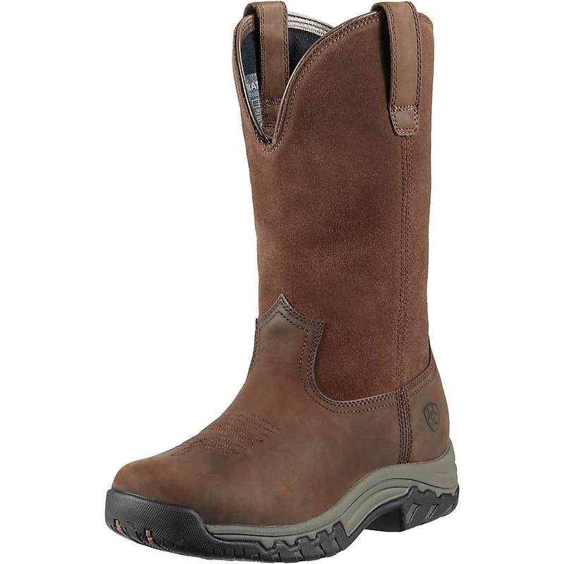 アリアト レディース ブーツ・レインブーツ シューズ Ariat Women's Terrain Pull-On H2O Boot Distressed Brown