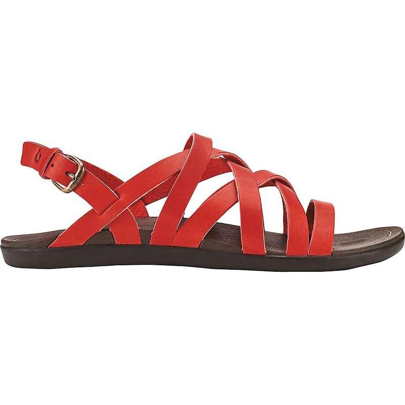 オルカイ レディース サンダル シューズ OluKai Women's 'Awe'awe Sandal Burnt Red/Dark Java