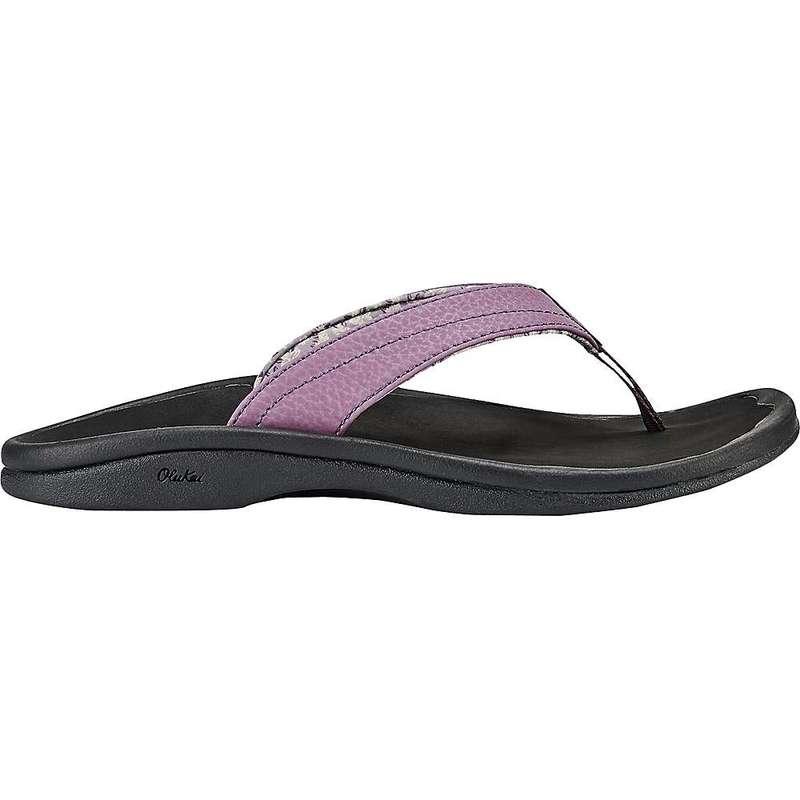 オルカイ レディース サンダル シューズ OluKai Women's 'Ohana Sandal Mauve/Black