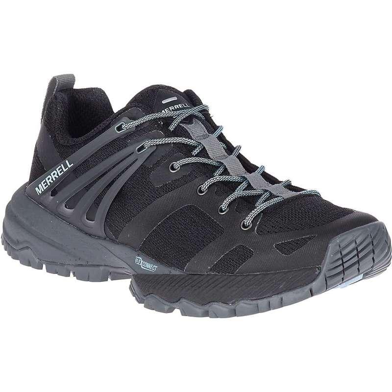 メレル レディース ブーツ・レインブーツ シューズ Merrell Women's MQM Ace Shoe Black / Turbulence