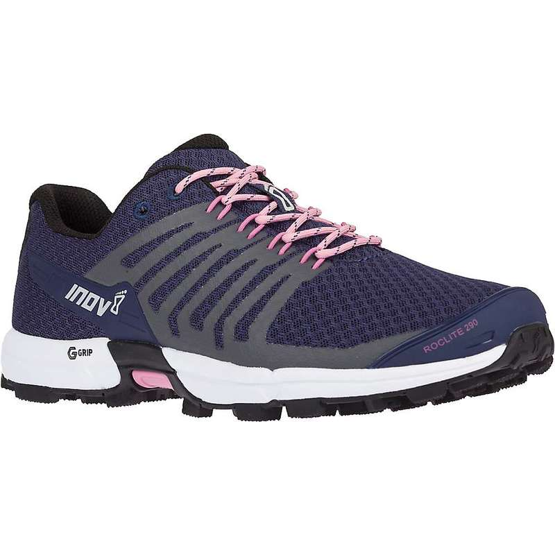 イノヴェイト レディース スニーカー シューズ Inov8 Women's Roclite 290 Shoe Navy / Pink