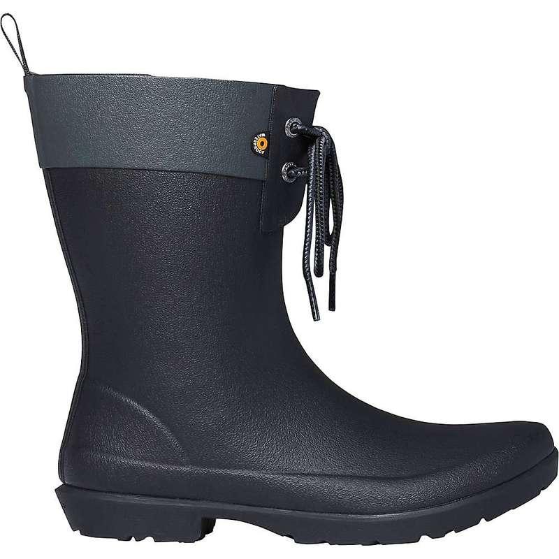 ボグス レディース ブーツ・レインブーツ シューズ Bogs Women's Flora 2 Eye Boot Black