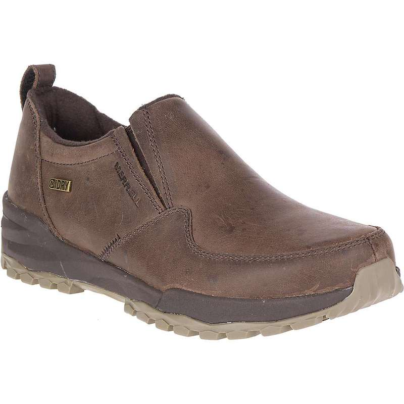 メレル レディース ブーツ・レインブーツ シューズ Merrell Women's Icepack Guide Moc Polar Waterproof Shoe Espresso