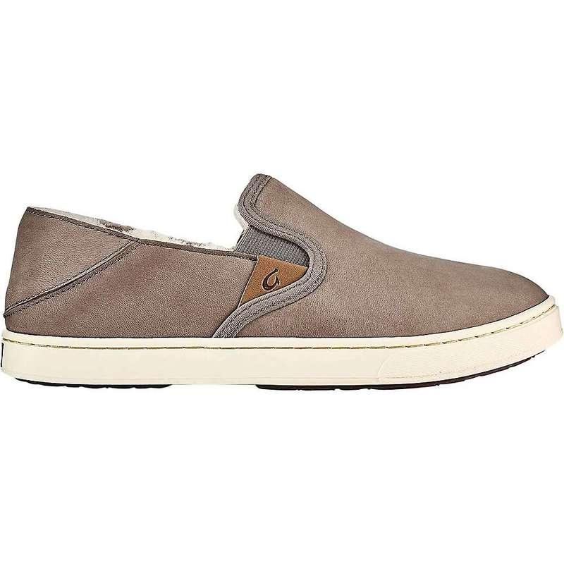 オルカイ レディース スニーカー シューズ Olukai Women's Pehuea Heu Shoe Taupe Grey / Taupe Grey