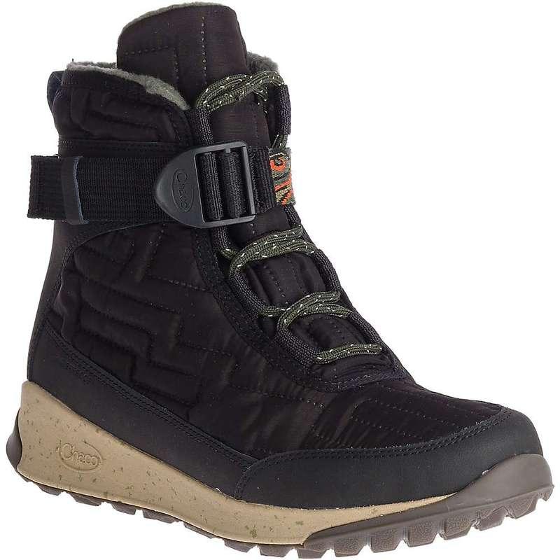 チャコ レディース ブーツ・レインブーツ シューズ Chaco Women's Borealis Quilt Waterproof Boot Black