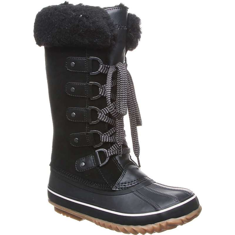 ベアパウ レディース ブーツ・レインブーツ シューズ Bearpaw Women's Denali Boot Black II
