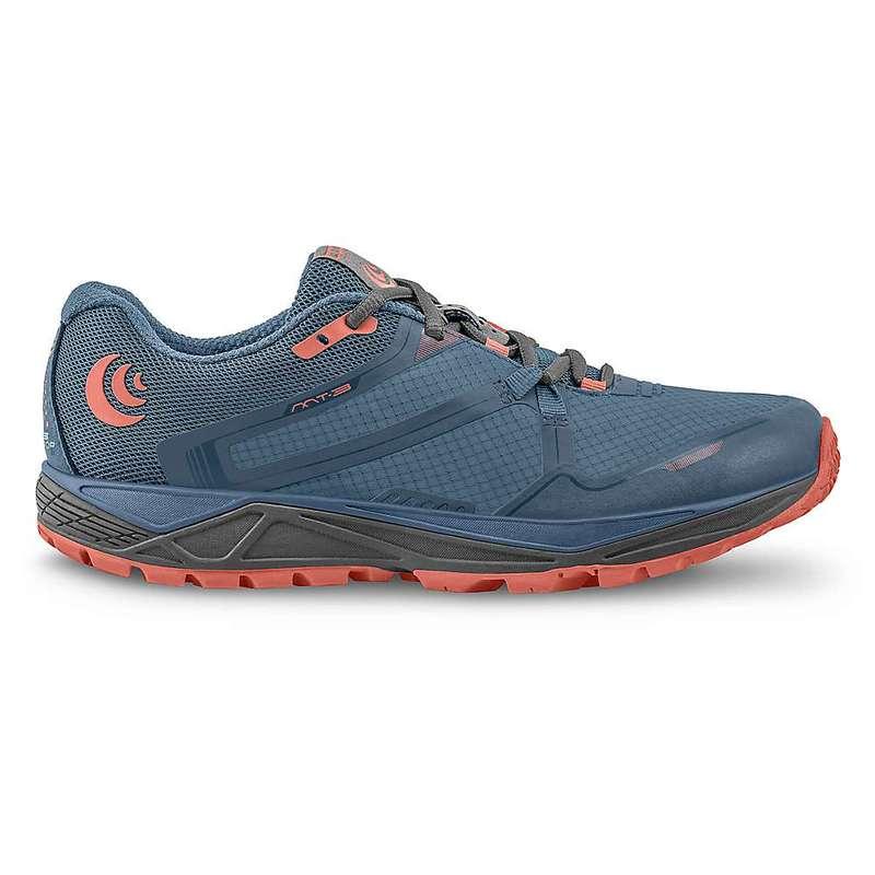トポアスレチック レディース スニーカー シューズ Topo Athletic Women's MT-3 Running Shoe Blue / Coral