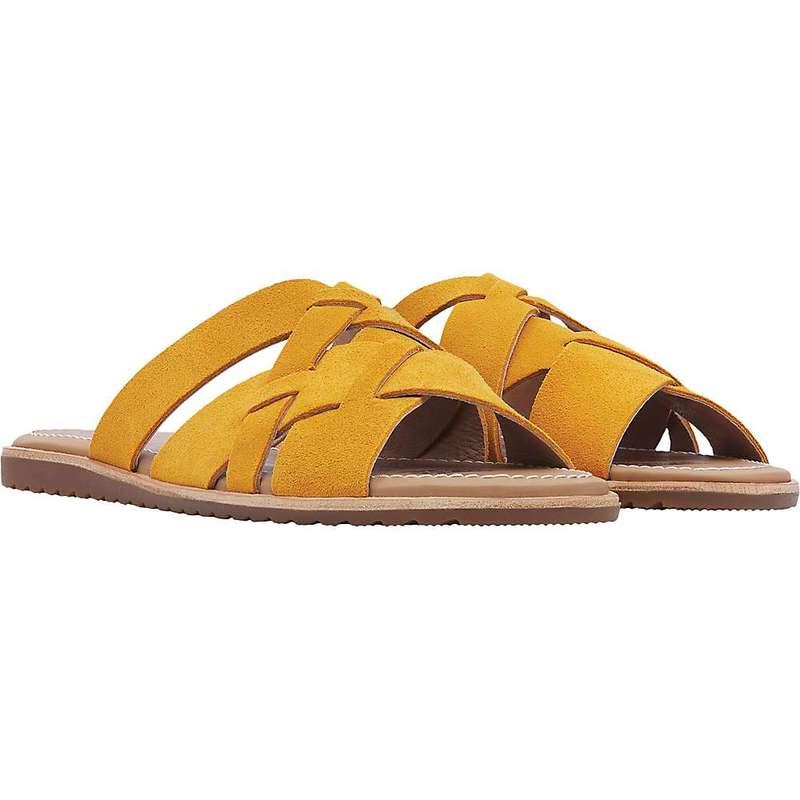 ソレル レディース サンダル シューズ Sorel Women's Ella Slide Golden Yellow