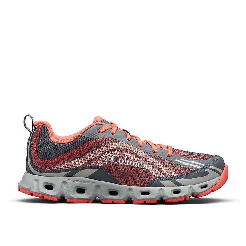 コロンビア レディース スニーカー シューズ Columbia Women's Drainmaker IV Shoe Graphite / Red Coral