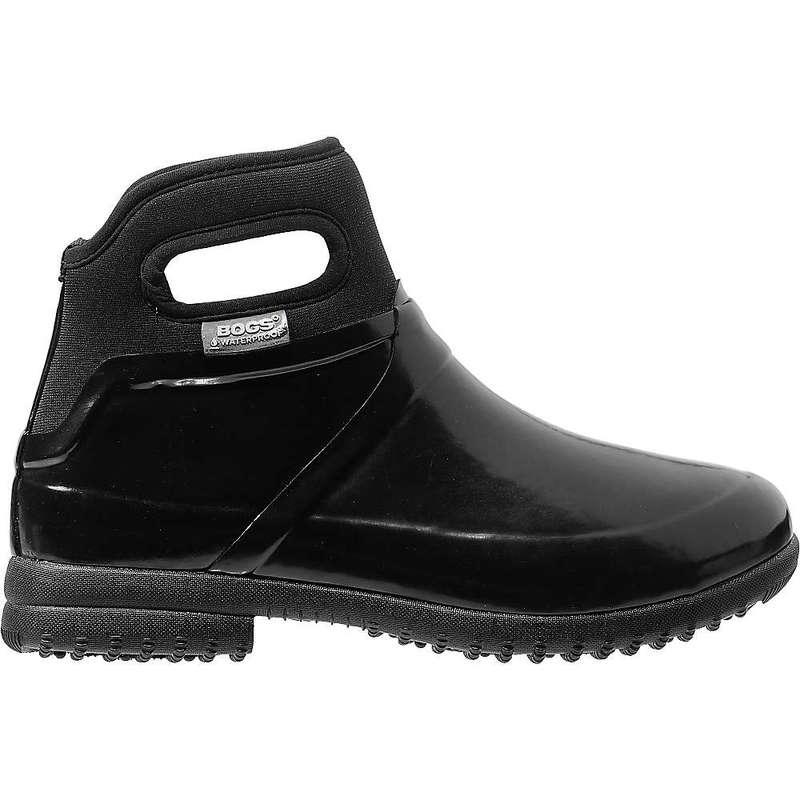 ボグス レディース ブーツ・レインブーツ シューズ Bogs Women's Seattle Solid Boot Black