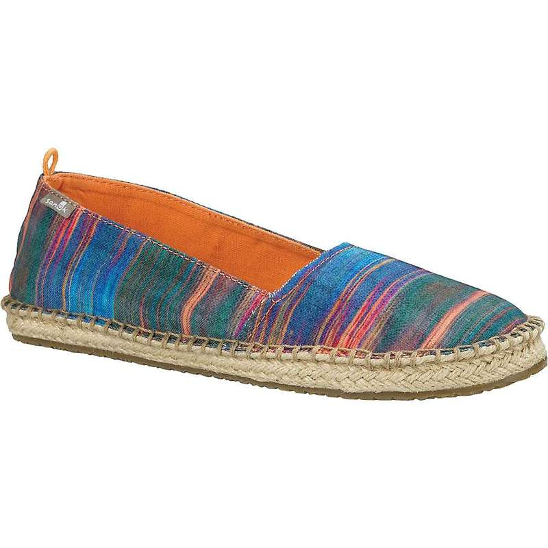 サヌーク レディース スニーカー シューズ Sanuk Women's Natal Shoe Multi / Ikat
