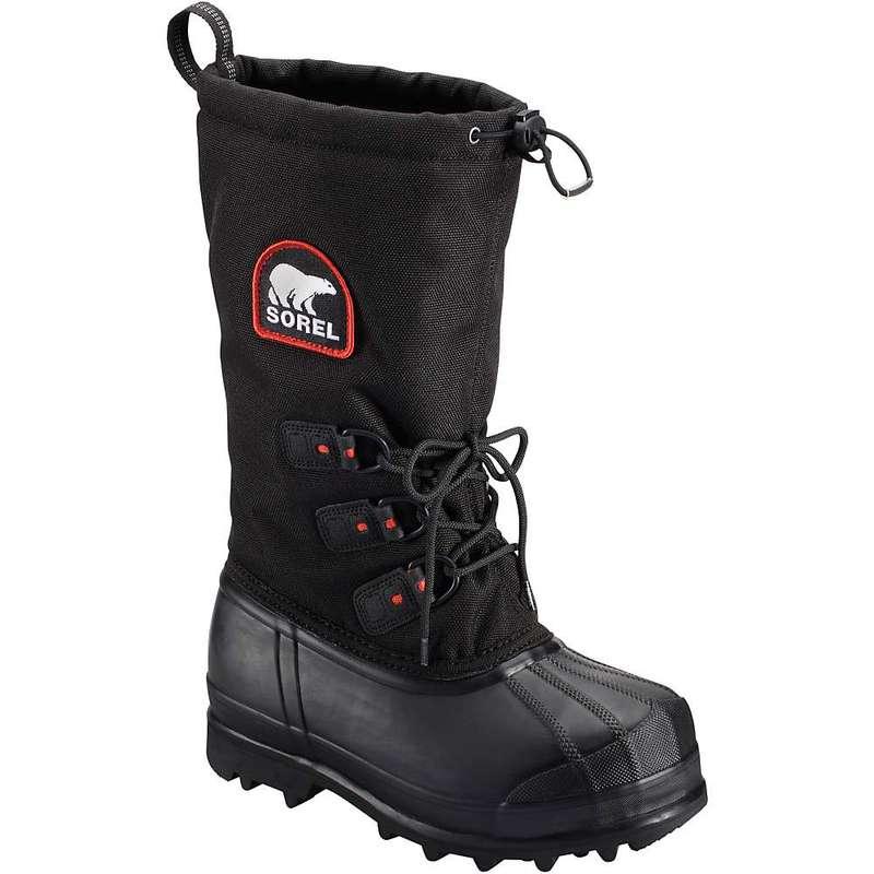 ソレル レディース ブーツ・レインブーツ シューズ Sorel Women's Glacier XT Boot Black / Red Quar