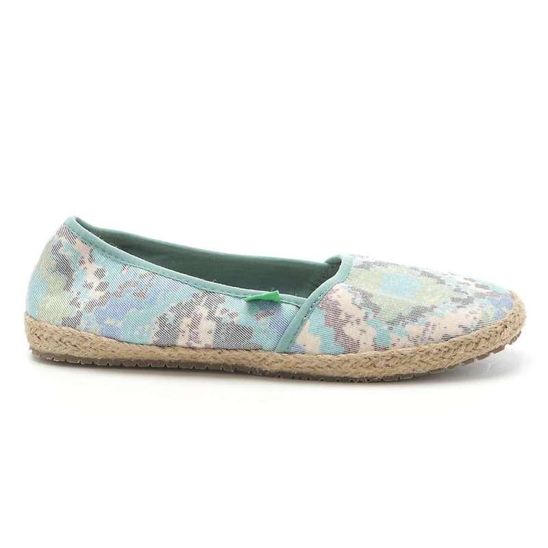 サヌーク レディース スニーカー シューズ Sanuk Women's Mya Shoe Blue / Multi