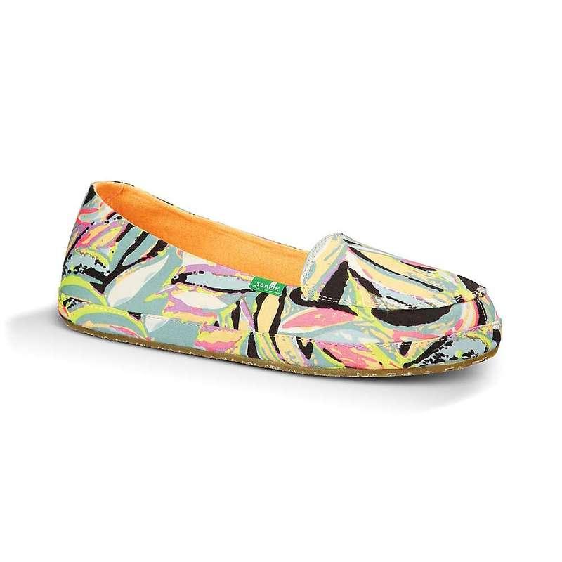サヌーク レディース スニーカー シューズ Sanuk Women's Palmtastic Shoe Peach / Multi