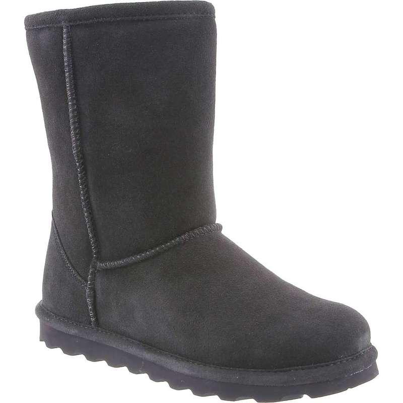 ベアパウ レディース ブーツ・レインブーツ シューズ Bearpaw Women's Elle Short Boot Charcoal