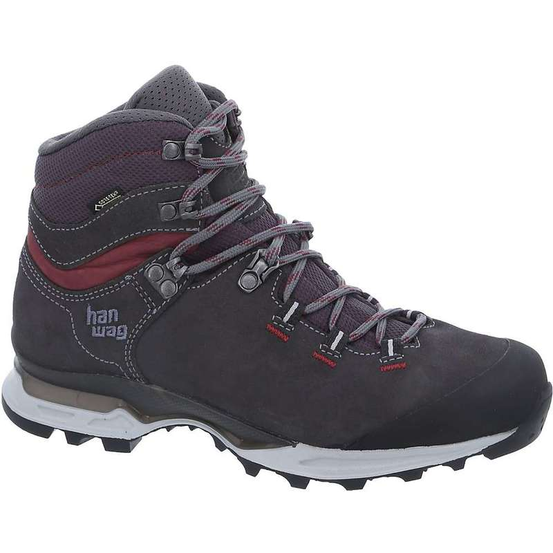 ハンワグ レディース ブーツ・レインブーツ シューズ Hanwag Women's Tatra Light Bunion GTX Boot Asphalt / Dark Garnet