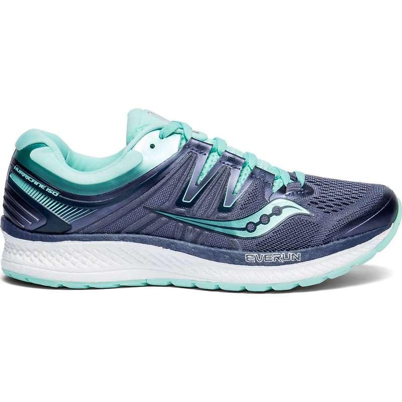 サッカニー レディース スニーカー シューズ Saucony Women's Hurricane ISO 4 Shoe Grey / Aqua