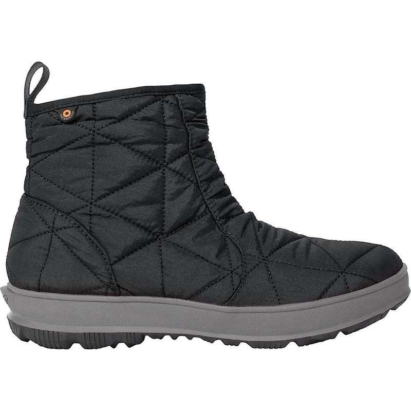 ボグス レディース ブーツ・レインブーツ シューズ Bogs Women's Snowday Low 6 Inch Boot Black