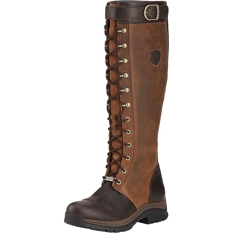 アリアト レディース ブーツ・レインブーツ シューズ Ariat Women's Berwick GTX Insulated Boot Ebony
