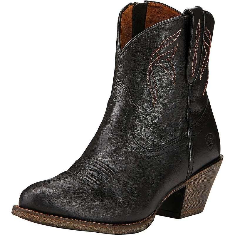 アリアト レディース ブーツ・レインブーツ シューズ Ariat Women's Darlin Boot Old Black