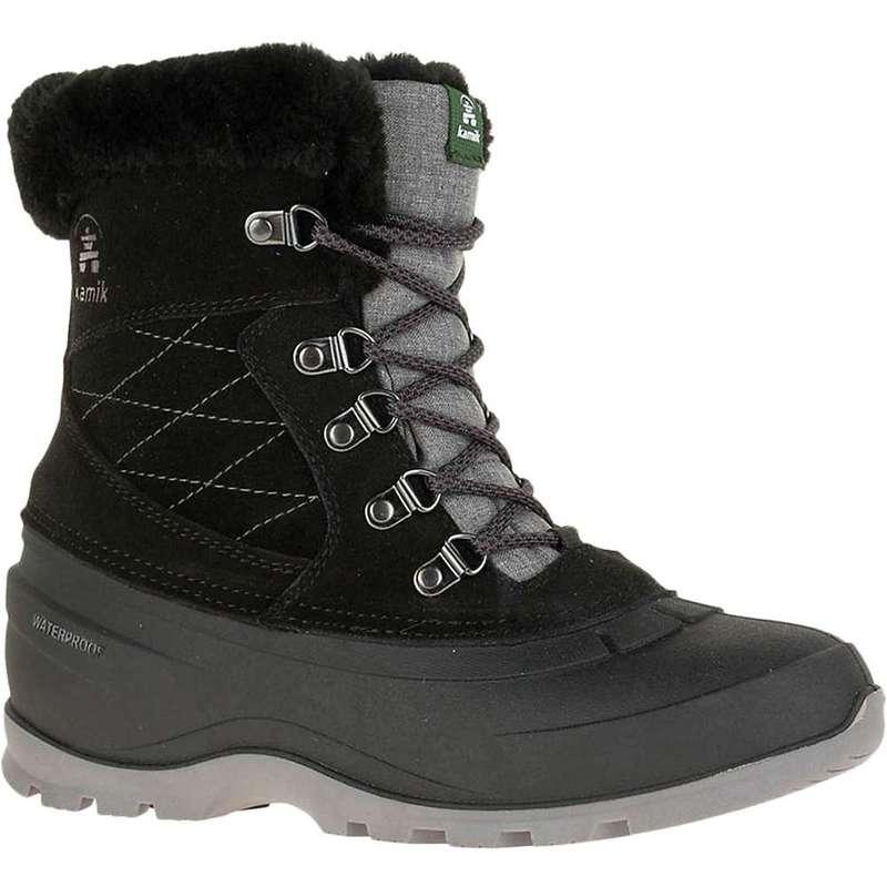 カミック レディース ブーツ・レインブーツ シューズ Kamik Women's SnovalleyL Boot Black