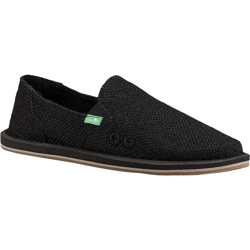 サヌーク レディース スニーカー シューズ Sanuk Women's Donna Cruz Shoe Black