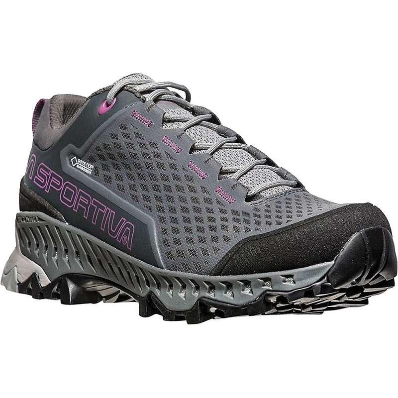 ラスポルティバ レディース ブーツ・レインブーツ シューズ La Sportiva Women's Spire GTX Hiking Shoe Carbon / Purple
