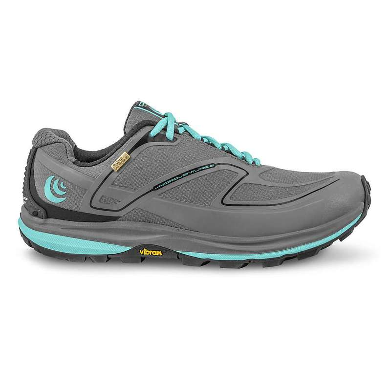 トポアスレチック レディース スニーカー シューズ Topo Athletic Women's Hydroventure 2 Running Shoe Charcoal / Sky