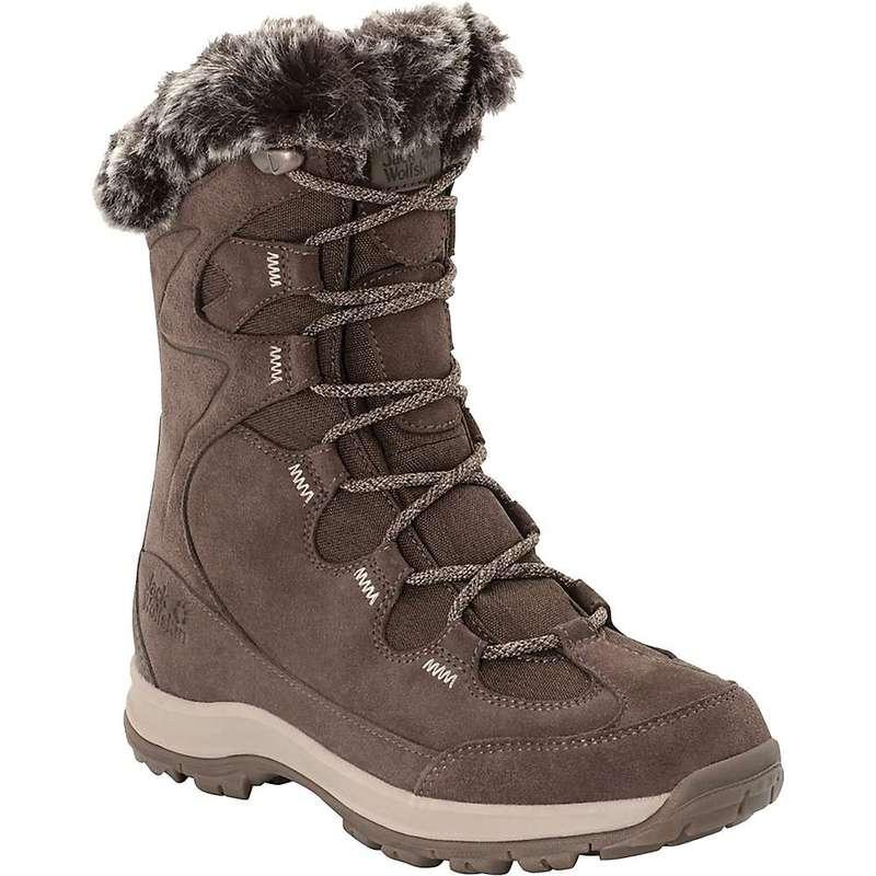 ジャックウルフスキン レディース ブーツ・レインブーツ シューズ Jack Wolfskin Women's Glacier Bay Texapore High Boot Mocca / Beige