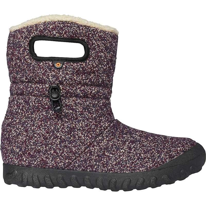ボグス レディース ブーツ・レインブーツ シューズ Bogs Women's B-Moc Mid Woven Shoe Purple Multi