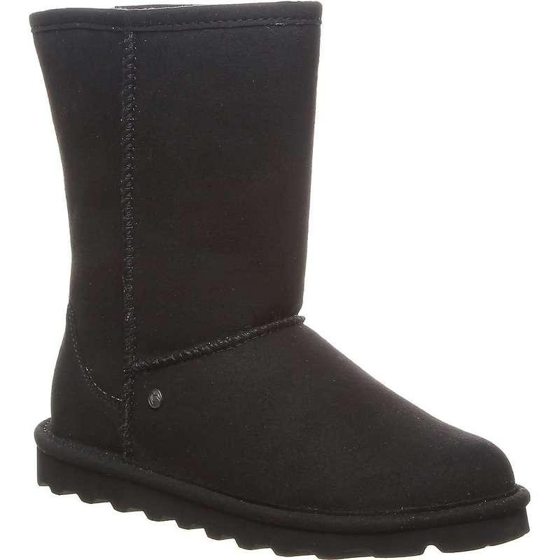 ベアパウ レディース ブーツ・レインブーツ シューズ Bearpaw Women's Vegan Elle Short Boot Black II