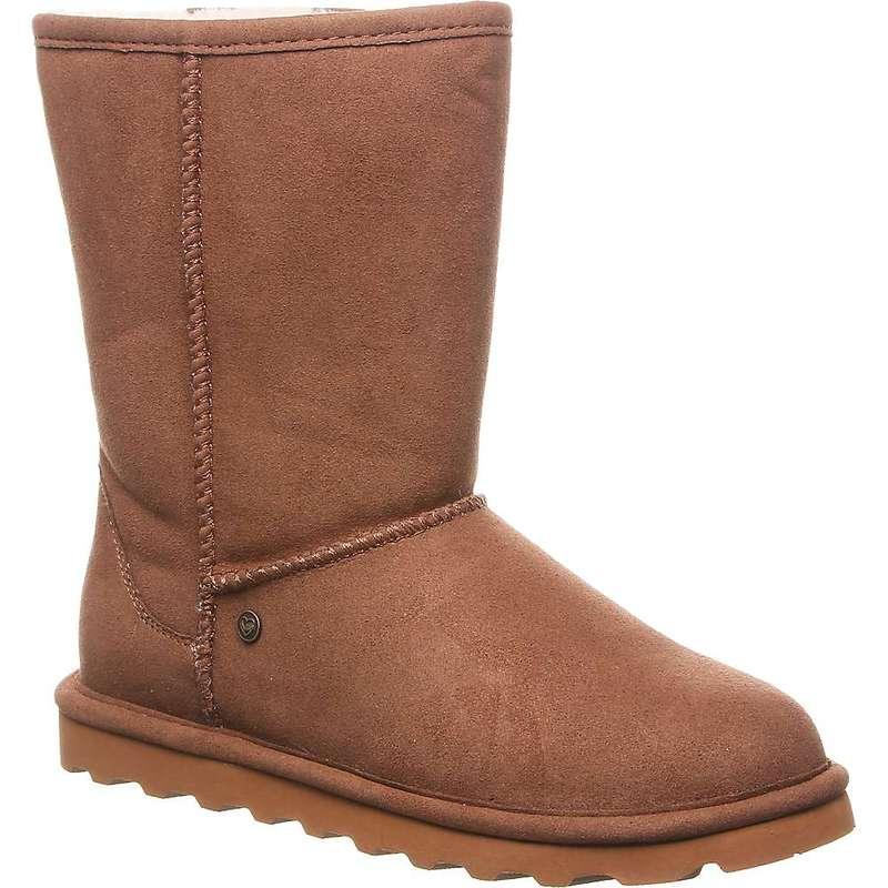 ベアパウ レディース ブーツ・レインブーツ シューズ Bearpaw Women's Vegan Elle Short Boot Hickory II