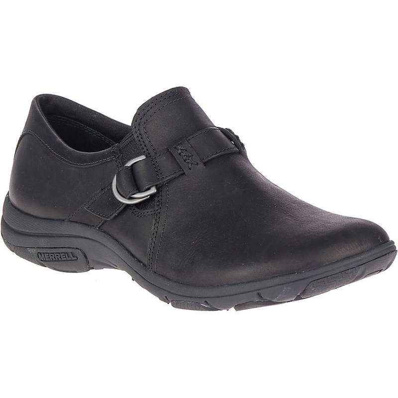 メレル レディース スニーカー シューズ Merrell Women's Dassie Stitch Buckle Shoe Black