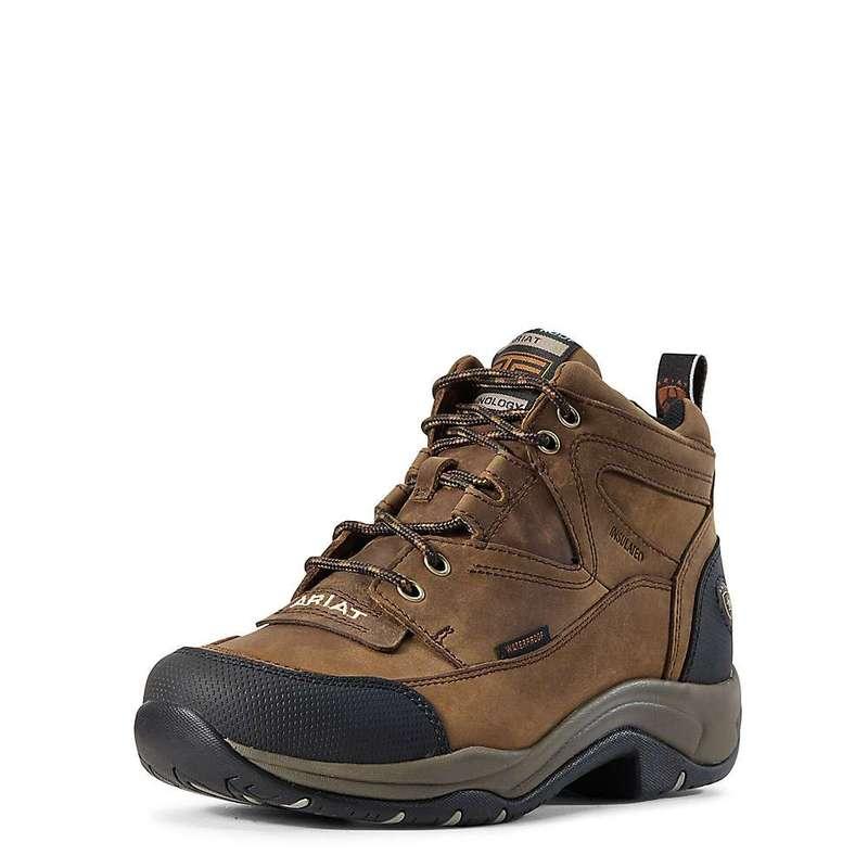アリアト レディース ブーツ・レインブーツ シューズ Ariat Women's Terrain H2O Insulated Boot Distressed Brown