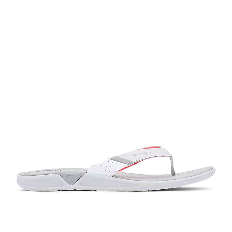 コロンビア レディース サンダル シューズ Columbia Women's Rostra PFG Sandal Grey Ice / Red Coral