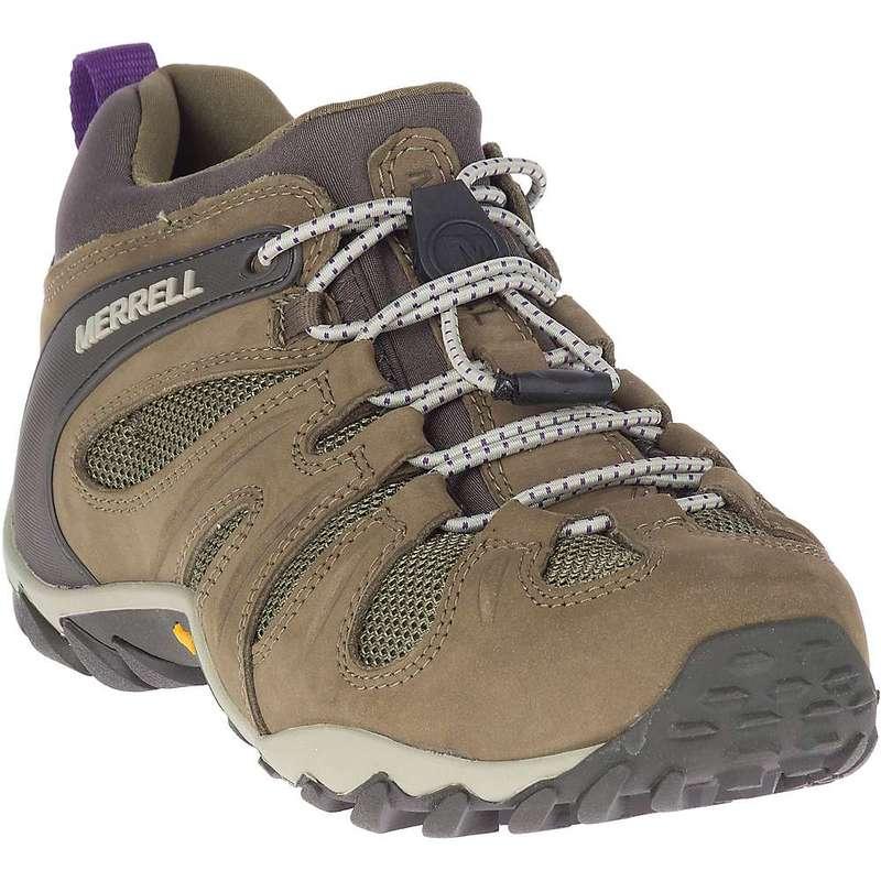 メレル レディース ブーツ・レインブーツ シューズ Merrell Women's Chameleon 8 Stretch Shoe Olive