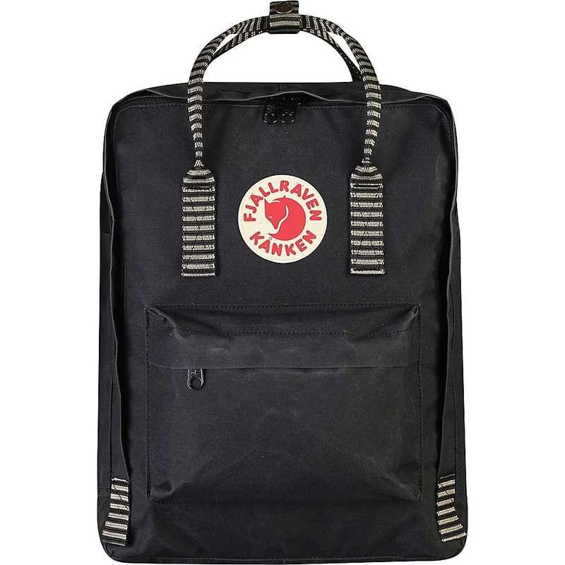 フェールラーベン メンズ バックパック・リュックサック バッグ Fjallraven Kanken Backpack Black-Striped