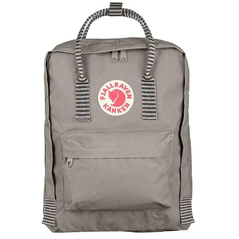 フェールラーベン メンズ バックパック・リュックサック バッグ Fjallraven Kanken Backpack Fog-Striped