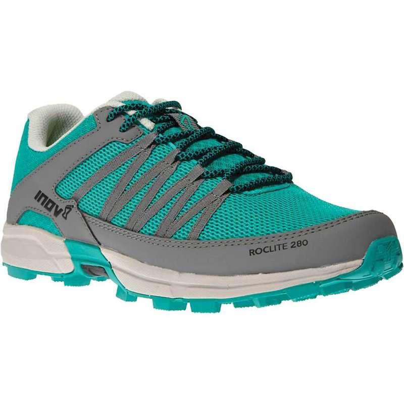 イノヴェイト レディース スニーカー シューズ Inov 8 Women's Roclite 280 Shoe Teal/Grey