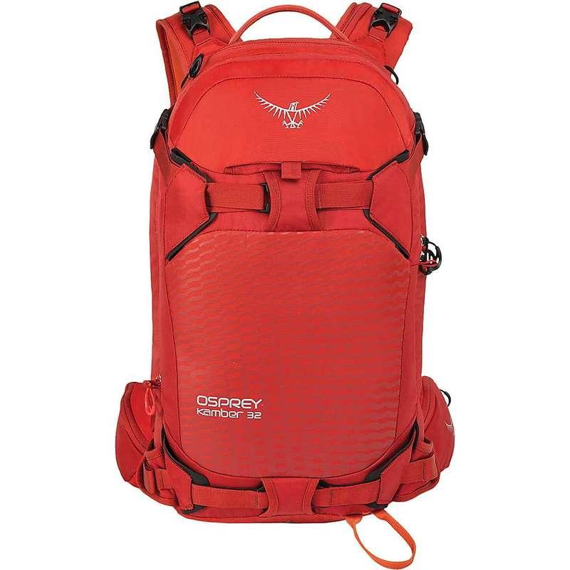 オスプレー メンズ バックパック・リュックサック バッグ Osprey Men's Kamber 32 Pack Ripcord Red