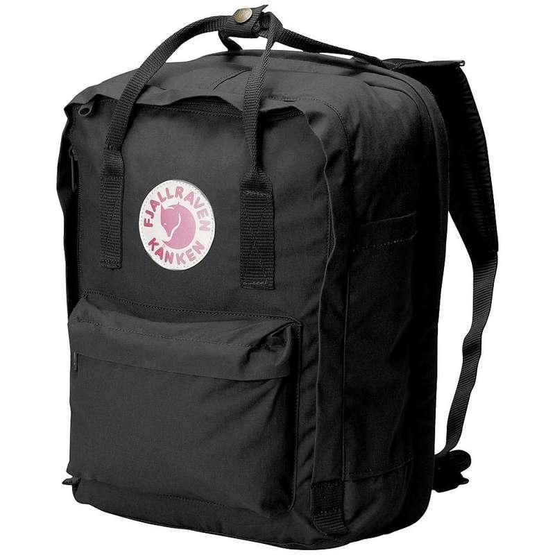 フェールラーベン メンズ バックパック・リュックサック バッグ Fjallraven Kanken 13 Inch Laptop Bag Black