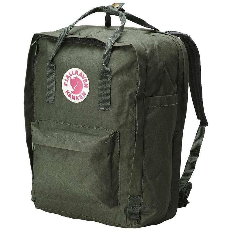 フェールラーベン メンズ バックパック・リュックサック バッグ Fjallraven Kanken 15 Inch Laptop Bag Forest Green