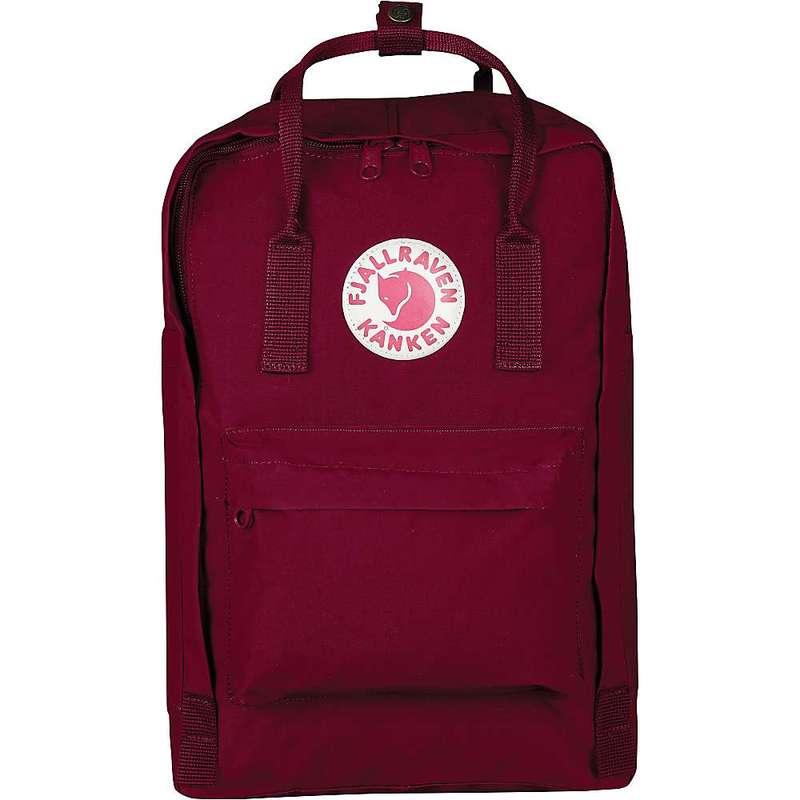 フェールラーベン メンズ バックパック・リュックサック バッグ Fjallraven Kanken 15 Inch Laptop Bag Plum